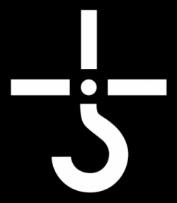 The Hook-and-Cross Logo