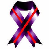 purple and red ribbon