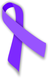 Image of the Purple ribbon