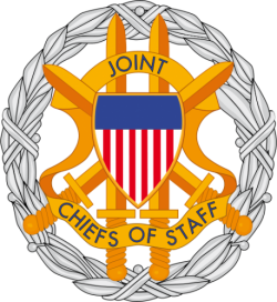 Image of the Office of the Joint Chiefs of Staff Identification Badge