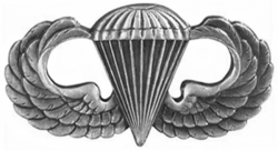 Image of the Parachutist Badge