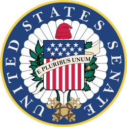 Image of the Seal of the United States Senate