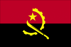 Image of the Flag of Angola