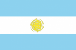 Image of the Flag of Argentina