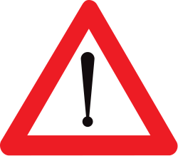 General Warning Sign - Belgium