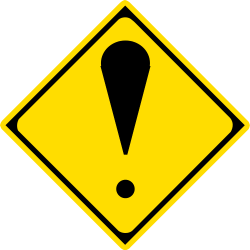 General Warning Sign - Japan
