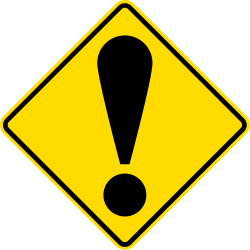 General Warning Sign - New Zealand