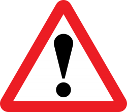 General Warning Sign - United Kingdom