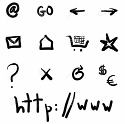 Internet Icons and Symbols