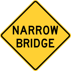 Narrow Bridge Ahead
