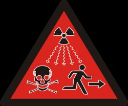 Ionizing radiation sign