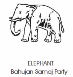 The Bahujan Samaj Party (BSP) - Elephant