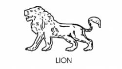 Maharashtrawadi Gomantak Party Symbol - Lion