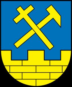 Arms of Niesky, Saxony, Germany