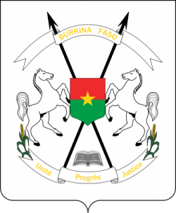 Coat of arms of Burkina Faso