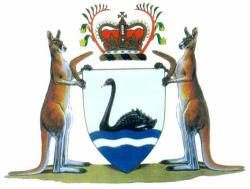 Coat of arms of Western Australia