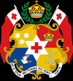 Coat of arms of Tonga