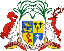 Coat of arms of Mauritius