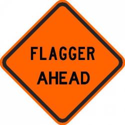 Flagger Ahead