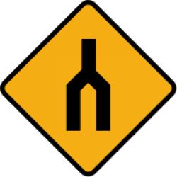 Divided Highway Ends