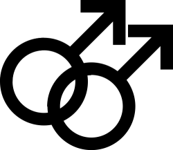 Male Homosexual Symbol