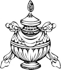 Treasure Vase or Um of Wisdom