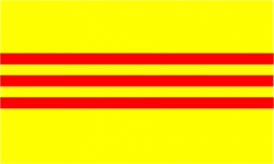 Flag of South Vietnam (1948-1975)