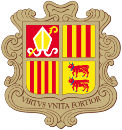 Coat of Arms of Andorra