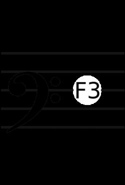 Baritone clef