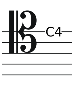 bariton clef