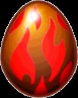 Obsidian Dragon egg