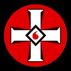 Ku Klux Klan's (KKK) emblem