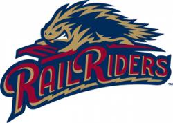Scranton \ Wilkes-Barre RailRiders Logo