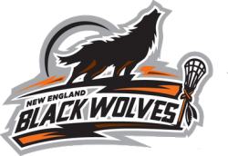 New England Black Wolves Logo