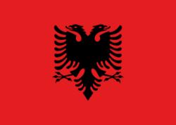 Flag of Albania - 2
