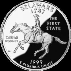 Delaware (50 State Quarter)