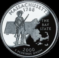 Massachusetts (50 State Quarter)