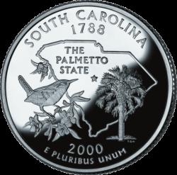 South Carolina (50 State Quarter)