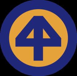 44th Infantry Division Shoulder Patch