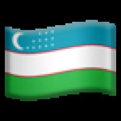 Uzbekistan (Apple iOS 10.3)