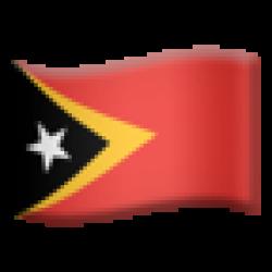 Timor-Leste (Apple iOS 10.3)