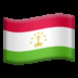 Tajikistan (Apple iOS 10.3)