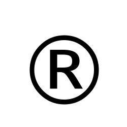 Registered trademark symbol (®)