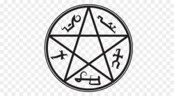 Devil's Trap Demon Symbol Pentagram