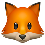 Fox Face (Apple iOS 12.2)