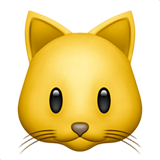 Cat Face (Apple iOS 12.2)