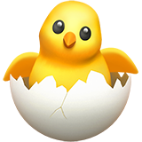 Hatching Chick (Apple iOS 12.2)