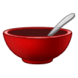 Bowl With Spoon (Samsung One UI 1.5)