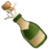 Bottle With Popping Cork (Samsung One UI 1.5)