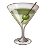 Cocktail Glass (Samsung One UI 1.5)